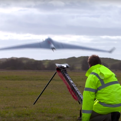 Commerical potential of drones in Wales
