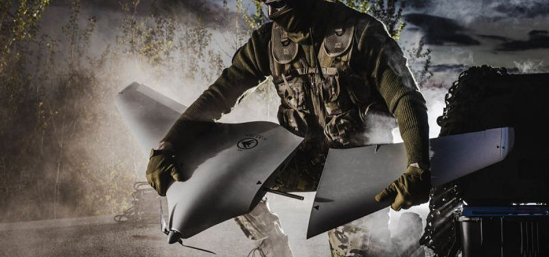 Micro UAS ATLAS C4EYE in benchmark trials with NATO forces